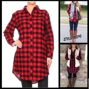 Boutique / Buffalo Tunic Top / Dress